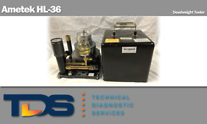 used Ametek Hl 36 Hydraulic Deadweight Tester Includes Nist Calibration