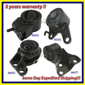 Engine Motor Trans Mount Set 4pcs 89 92 For Ford Probe 2 2 Turbo For Manual