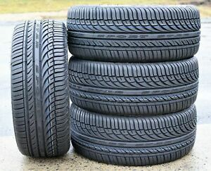 4 New Fullway Hp108 245 40zr18 245 40r18 97w Xl A s All Season Performance Tires