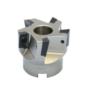 2 x3 4 90 Degree Indexable Face Mill Cutter Use Apmt Apkt Cnc Machining Inserts