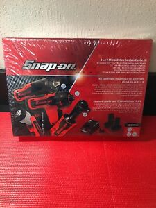 Sealed Snap On 14 4v Micro Lithium Cordless Impact Screwdriver Ratchet Light