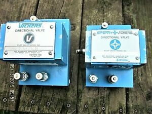1 Sperry Vickers Deceleration 2 Way Directional Valve Dg16s2 010a 52