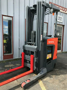 2011 Toyota 3500lb Reach Truck Forklift Lifttruck Hilo Lease For 346
