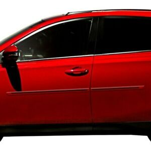 For Kia Sportage 11 16 Dawn 1 25 Wide Body Side Moldings W Color Insert Painted