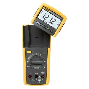 Fluke Electronics Remote Display Digital Multimeter ac dc Voltage Ac dc