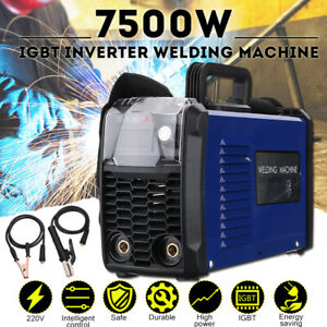 7500w 220v Mma 250 Amp Igbt Arc Electric Inverter Welding Machine Soldering Tool