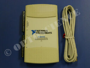 National Instruments Usb 6215 Data Acquisition Card Ni Daq Multifunction