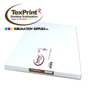 Sublimation Paper 11 x17 Texprint r Heat Press Transfer Paper 110 Sheets