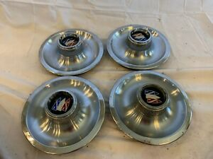 Buick Dog Dish Poverty Hub Caps 1965 1975 Buick Skylark Gs Gsx
