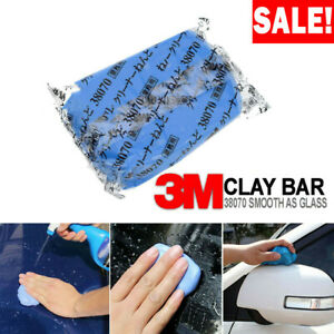 3m 200g Clay Bar Car Auto Vehicle Clean Cleaning Detailing Remove Clean Blue Us