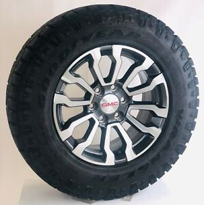 New Takeoff 2020 Gmc Sierra Yukon 18 Wheels Goodyear Wrangler Duratrac At Tires