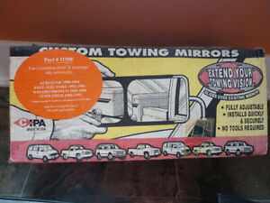 Cipa Part No 11500 Black Custom Towing Mirrors Ford 1990 1996