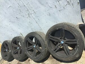 Factory 19 Staggered Rims Wheels 9 5 8 5 Wide W t Tires Bmw M6 M5 97k