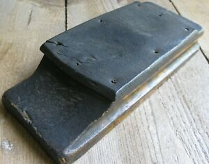 Antique Wood Block Tool Farmhouse Extremely Weathered Vintage Printing Press