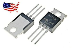Irf1404 10 Pcs 202a 40v To 220 Mosfet From Usa