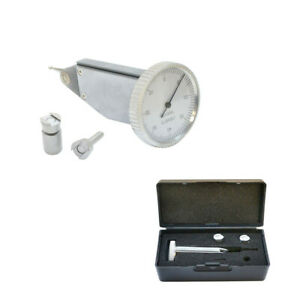 008 Inch Vertical Dial Test Indicator 0001 Inch Graduation With Case