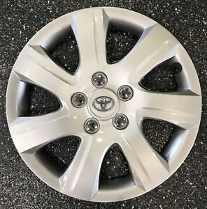2010 2011 Toyota Camry Hubcap 16 7 Spoke Silver New Aftermarket
