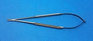 Scanlan 6006 84 Diamond Dust Jacobson Micro Needle Holder Straight 7 1 4