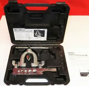 Evertough Double Flaring Tool Kit Sae Model 67001 Excellent Condition