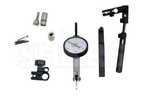 Shars 0 060 Swiss Style Horizontal Dial Test Indicator Set New