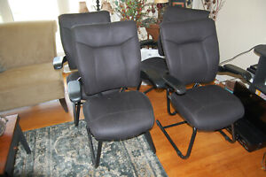 4 Comfortable Quality Office Chairs
