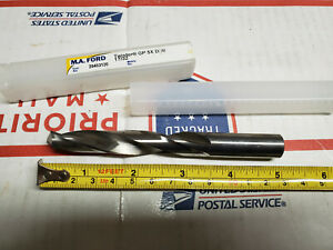 17 32 M a Ford Drill Solid Carbide Jobber Length Rh Twister Gp 5x New 20453120