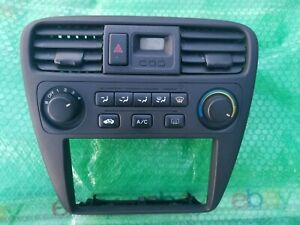 2000 2002 Honda Accord Ac Heater Climate Control Dash Radio Bezel Temp black