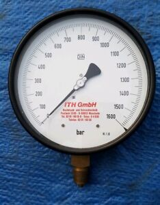6 Ith Gmbh Hydraulic Pressure Gauge For Torque tensioning Systems To 1600 Bar