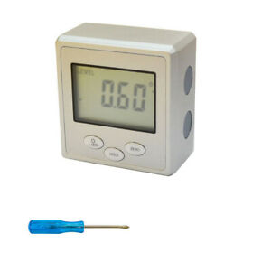 Angle Cube Digital Magnetic Protractor Gauge Level