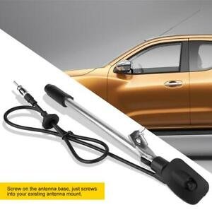 Stainless Steel Car Replacement Radio Antenna For Nissan Navara D22 1997 2012