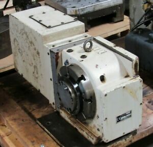 8 Nikken 4th Axis Cnc Rotary Table Cnc Z200lza Cncz200 Lza S n 8021 For Siemens