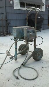 Graco Ultra Plus 1000 Airless Paint Sprayer With Many Extras