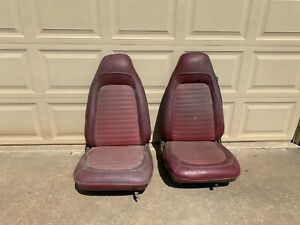 B E Body Mopar Bucket Seats Left Right 1970 One Year Only Excellent Originals