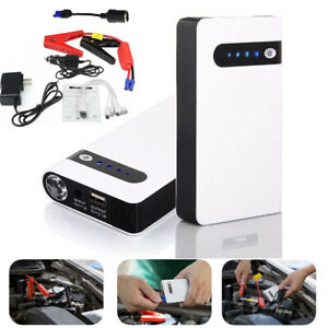 Portable 20000mah Car Jump Starter Engine Battery Charger Power Bank Led Light