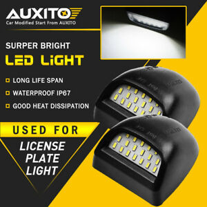 Auxito Led License Plate Light For 2000 2006 Chevy Tahoe Suburban Gmc Yukon Xl