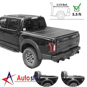 Hard Tri Fold Tonneau Cover For 2007 2019 Toyota Tundra 5 5ft Short Bed