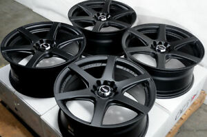 17 Wheels Fit Mx 5 Miata Altima Maxima Juke Scion Xb Xd Tc Corolla Black Rims