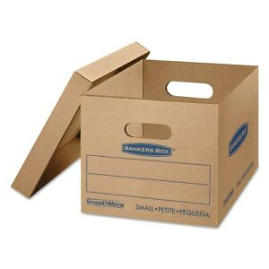 Bankers Box Smoothmove Classic Small Moving Boxes 15 inch