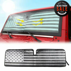 Windshield Sunshade Uv Protection Front Window Sun Shade Cover For Jeep Wrangler