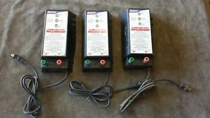 As is 3x Fi shock Ss 4000x Ac powered Livestock Fence Energizer Charger Eac25mfs