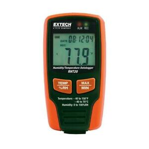 Humidity And Temperature Data Logger With Lcd