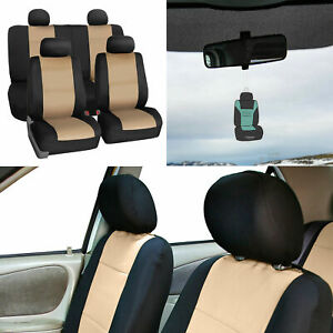 Neoprene Seat Covers Full Set For Auto Car Suv Van 5 Colors W Free Freshener