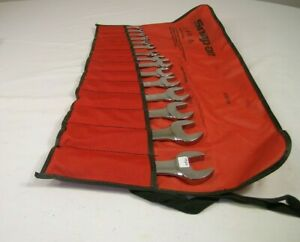 Snap On Sae Short Combination Wrench Set Oexs715k 0922