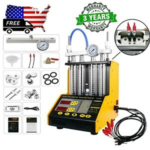 Autool Ct150 Car Ultrasonic Fuel System Injector Cleaner Tester Us Stock