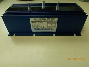 Sure Power Multi Battery Isolator 31822 1 Input 2 Outputs 160 Amp Dc Volts 6 30
