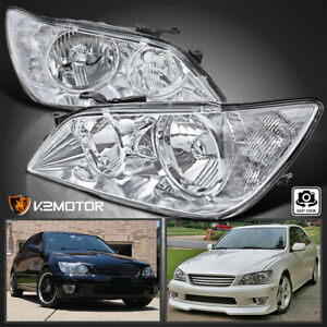 For 2001 2005 Lexus Is300 Clear Replacement Headlights Head Lamps Left right