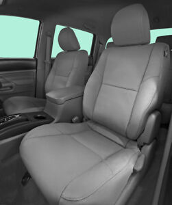 2012 2015 Toyota Tacoma Double Cab Katzkin Ash Grey Graphite Leather Kit Nonfold