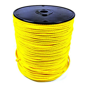 Erin Rope Bulk Throw Line 1000 Yellow 41000 Arborist Tree Climbing