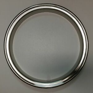 17 Chrome Beauty Glamour Steel Trim Ring 1 3 4 Deep For Dodge Chevy Ford Gmc