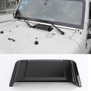 Hood Vent Cover Air Vent Scoop Accessories For Jeep Wrangler Jk Jku 2007 2017